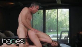 Big titted Jewels bounces her juicy moist snatch on a huge throbbing fuck s