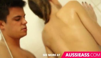 Asian girl Sakure fucking for the first time in front of the camera