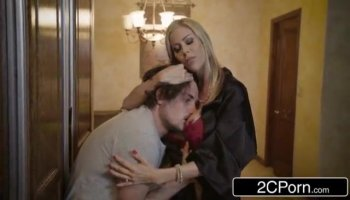 Kagney Linn Karter and Kendra Lust riding Johnny's big tool